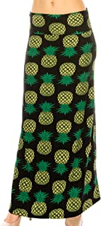 Women's Fold Over Maxi Skirt (ONE Size)
