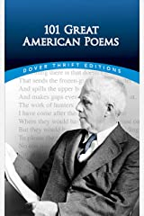 101 Great American Poems (Dover Thrift Editions) Kindle Edition