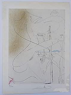 La Venus aux Fourrures Woman with Crutch