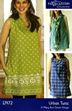 Urban Tunic # IJ972- Indygo Junction Trendy Sewing Pattern (XS – XXL.)