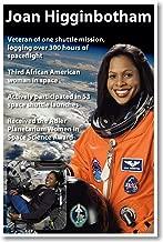 Joan Higginbotham - NEW African American NASA Astronaut Space Poster