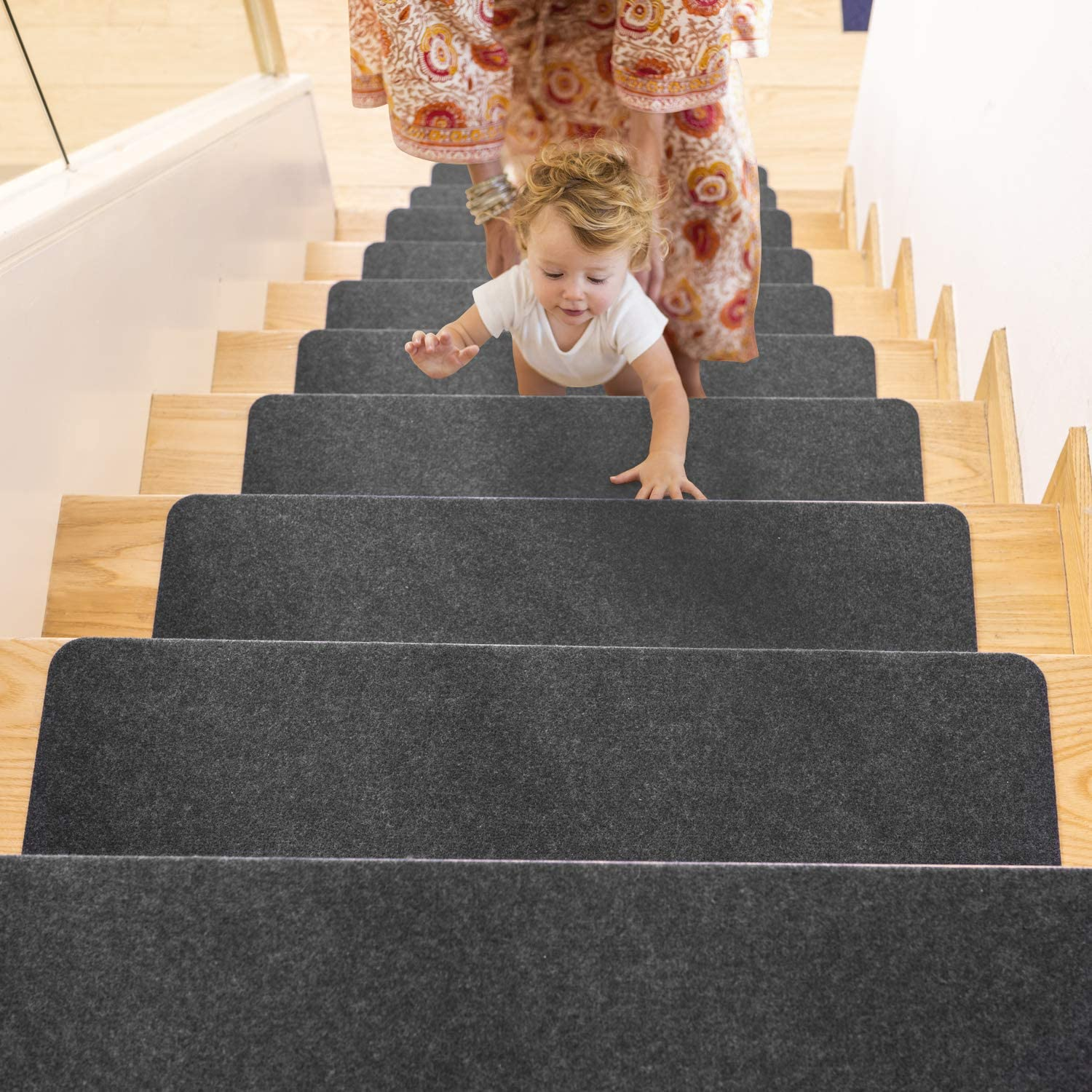 Stair Treads Carpet for Peel 14 Pack Max 46% OFF Wooden 40% OFF Cheap Sale