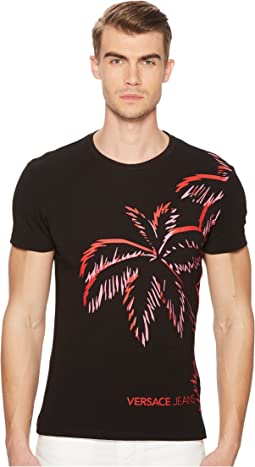 Palm Print Graphic Tee