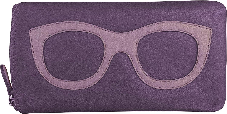ili New York 6462 Case Ranking TOP2 Leather Eyeglass It is very popular