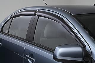 Mitsubishi 2008-2012 Lancer, Lancer Evolution, Lancer Sportback, Lancer Ralliart Side Window Deflectors