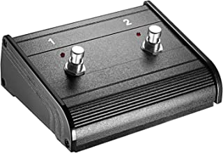 Neewer Dual-Channel 2-Button Footswitch Controller Switcher with 1/4-inch Jack Cable for Guitar Bass and Keyboard Amplifiers with on/off Switching Capability (NW-202)