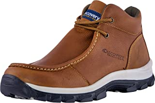 Discovery EXPEDITION Mens Mens Art Ankle Leather Boot Brown Size: 10.5
