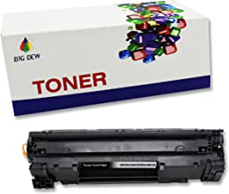 Big Dew 1 Pack CE285A Toner Cartridge Replacement For HP LaserJet Pro P1102W P1102 P1100 M1212NFW M1212NF M1210 M1132 M1130 Printer