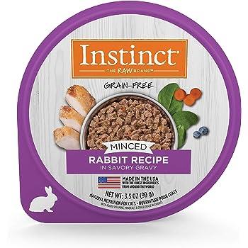 Instinct Grain Free Minced Recipe Natural Wet Cat Food Cups