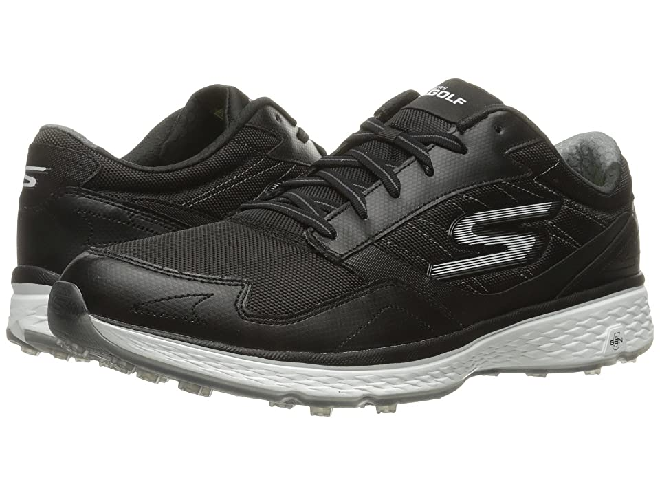 SKECHERS Go Golf Fairway (Black/White) Men