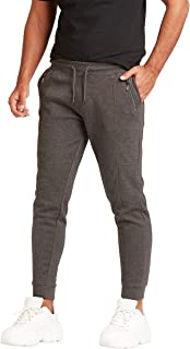 Iconic Men's 2300519 MOSEAN Slim Joggers, Grey
