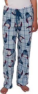 Disney Women's Ultra-Soft Character Plush Drawstring Pajama Pant