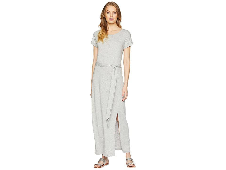 Sanctuary Isle T-Shirt Maxi Dress (Heather Grey) Women