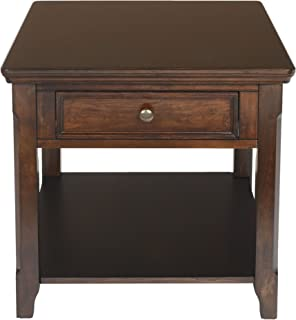 New Classic Timber City Sable End Table