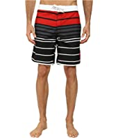 U.S. POLO ASSN. - Tri-Color Block Boardshorts