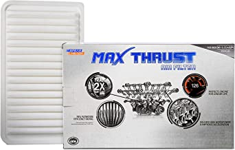 Spearhead MAX Thrust Performance Engine Air Filter For Low & High Mileage Vehicles - Increases Power & Improves Acceleration (MT-360)