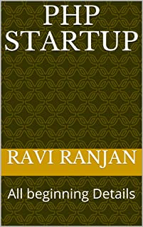 PHP Startup: All beginning Details (RR Book 1) (English Edition)