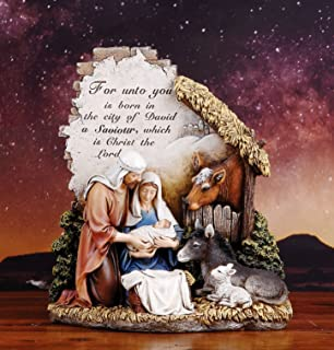 Image of 5 Star Rating: Unto You a Savior is Born Nativity Figurine