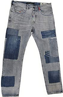 NWT $ 978 Limited Edition Buster Slim Italy Made Mens Jeans SZ 32X30 Blue