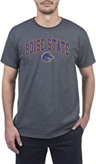 Elite Fan Shop NCAA Men's Short Sleeve T-Shirt Charcoal Gray