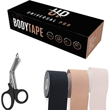 UniPRO KT Body Tape for Skin & Breast, Bra Tape, Athletic Body Tape, Secret Fashion Tape, Push up Tape, Adhesive Dress Tape, Boob Lift Tape, Skin Tape for Body, Tape for Breast Lifting, Boob Lifter