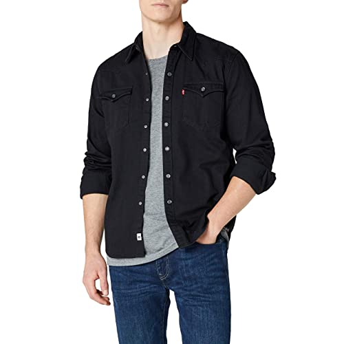 7763ed76 Levi's Men's Barstow Western Casual Shirt