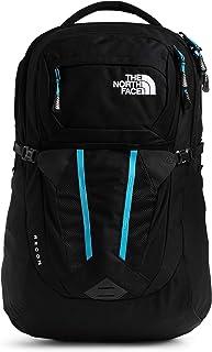 حقيبة ظهر Recon نسائية من The North Face باللون الأسود المرقط/الأزرق الأثيري، مقاس واحد