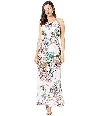 Karen Kane Halter Maxi Dress (Print) Women