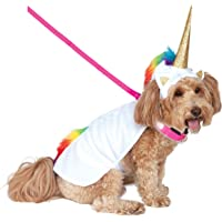 Rubie's Unicorn Cape with Hood and Light-Up Collar Pet Costume