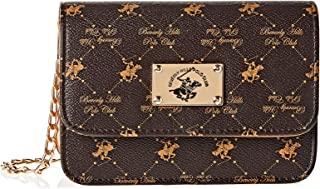 Beverly Hills Polo Club Crossbody for Women- Brown