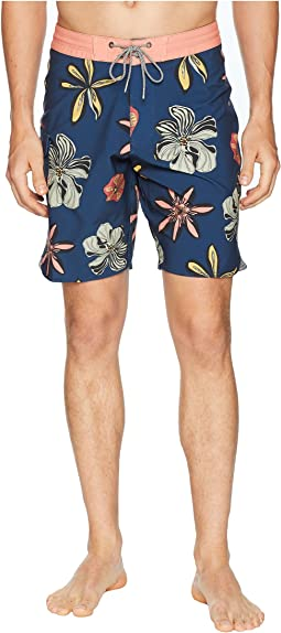 Weirdo Four-Way Stretch Boardshorts