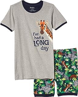 Jungle Safari Short Appliqué PJ Set (Toddler/Little Kids/Big Kids)