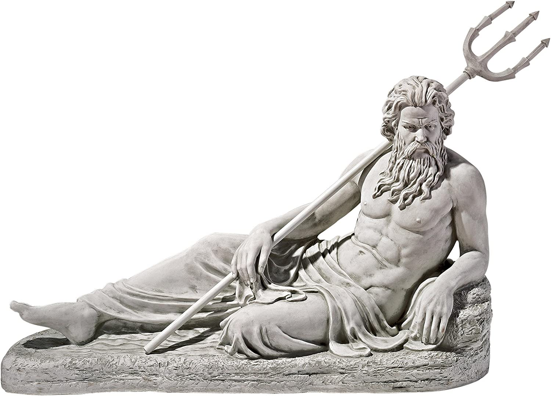 Design Toscano Neptune of Super special SALENEW very popular! price St. John's Statue Thames River Lock
