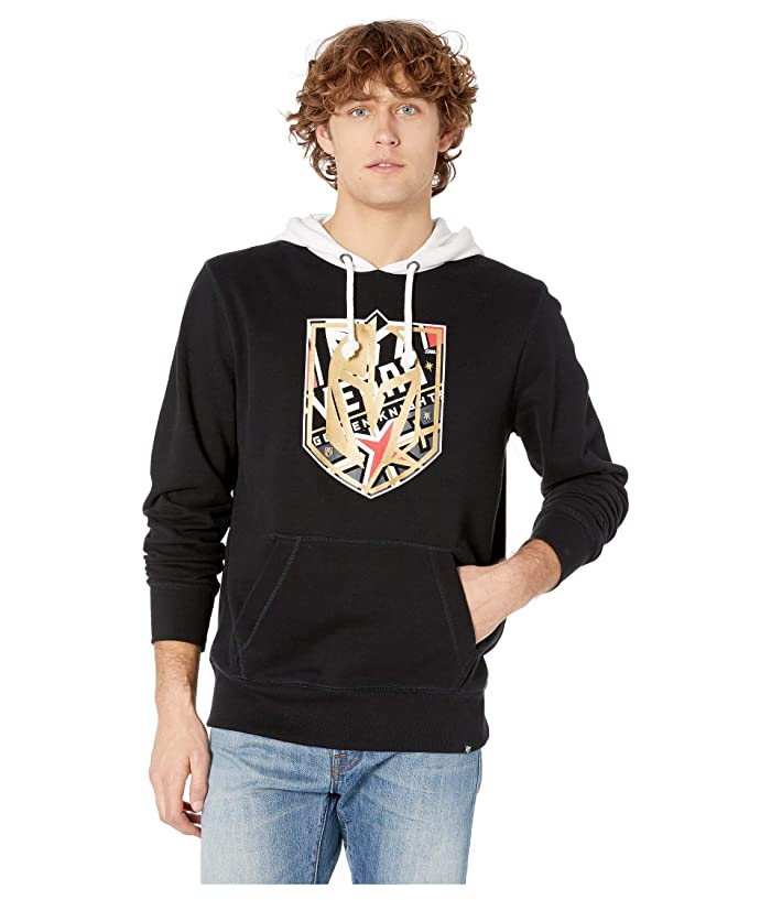 Vegas Golden Knights Patchwork Headline Hoodie Jet Black