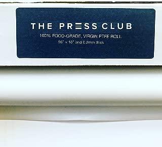[2 Rolls in 1] Premium Super Slick PTFE Film Roll | 0.2mm Thick | 96