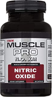 Nitric Oxide Booster by xTreme Muscle Pro - L Arginine, L Citrulline, and Agmatine Sulfate Supplement for Rapid Muscle Gro...