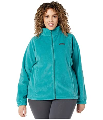 Columbia Plus Size Benton Springstm Full Zip (Waterfall) Women