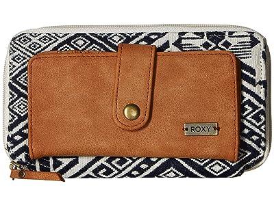 Roxy Natural State A Wallet (Dress Blues) Wallet Handbags