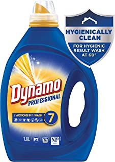 Dynamo Professional with 7 Actions in 1 Wash, Liquid Laundry Detergent, 1.8 Litres, 36 Washloads