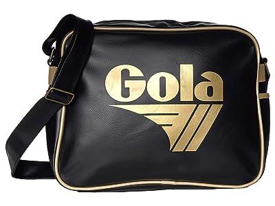 Gola Redford (Black/Gold) Messenger Bags