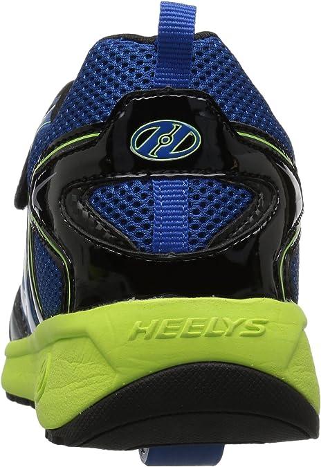 White//Black//red Heelys Girls Rise X2 Tennis Shoe