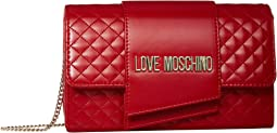 Red Quilted Soft PU
