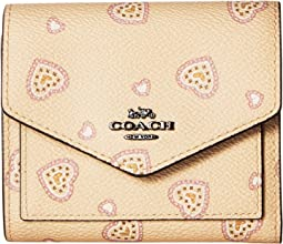 Small Wallet in Heart Print