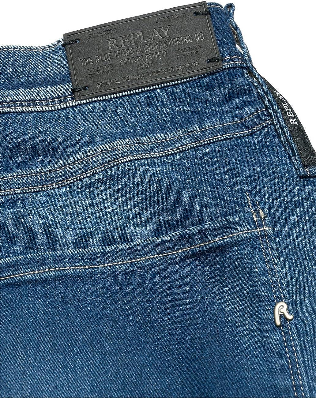 Replay Jeans Homme Bleu (Blue Denim 009)
