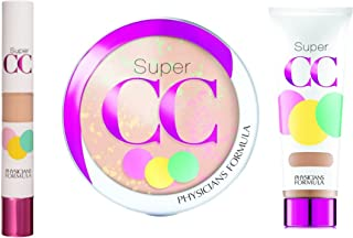 Physicians Formula Super CC Color-Correction & Care Makeup Kit, Light/Medium