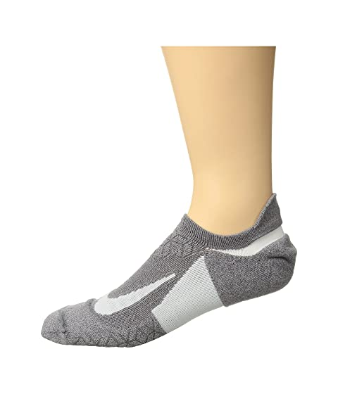 Nike Elite Cushion No-Show Tab Running Socks Gunsmoke/Atmosphere Grey/White Outlet With Paypal C5RXMU