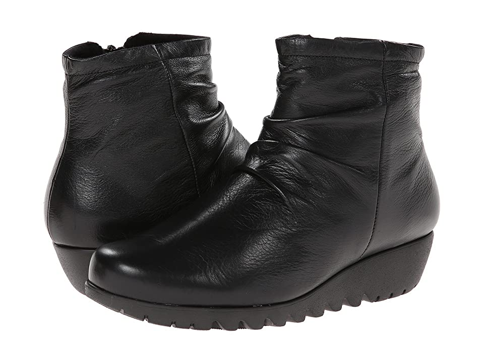 Munro Riley (Black Leather) Women