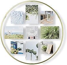 إطار صورة أومبرا إنفينيتي لعرض الصور العائمة للمكتب أو الحائط، متعدد الاستخدامات، نحاسي