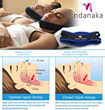 Anti Snore Chin Strap - Most Effective Snoring Solution, Neoprene Snore Guard - Stop Snoring Aid, Sleep Snore Chin Strap Jaw Strap, Quiet Sleep, Wake Up Refreshed. for Men, Women, Children