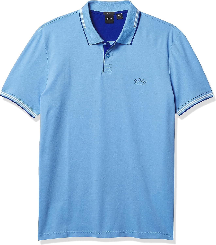 BOSS Men's Paul Modern Essential Polo